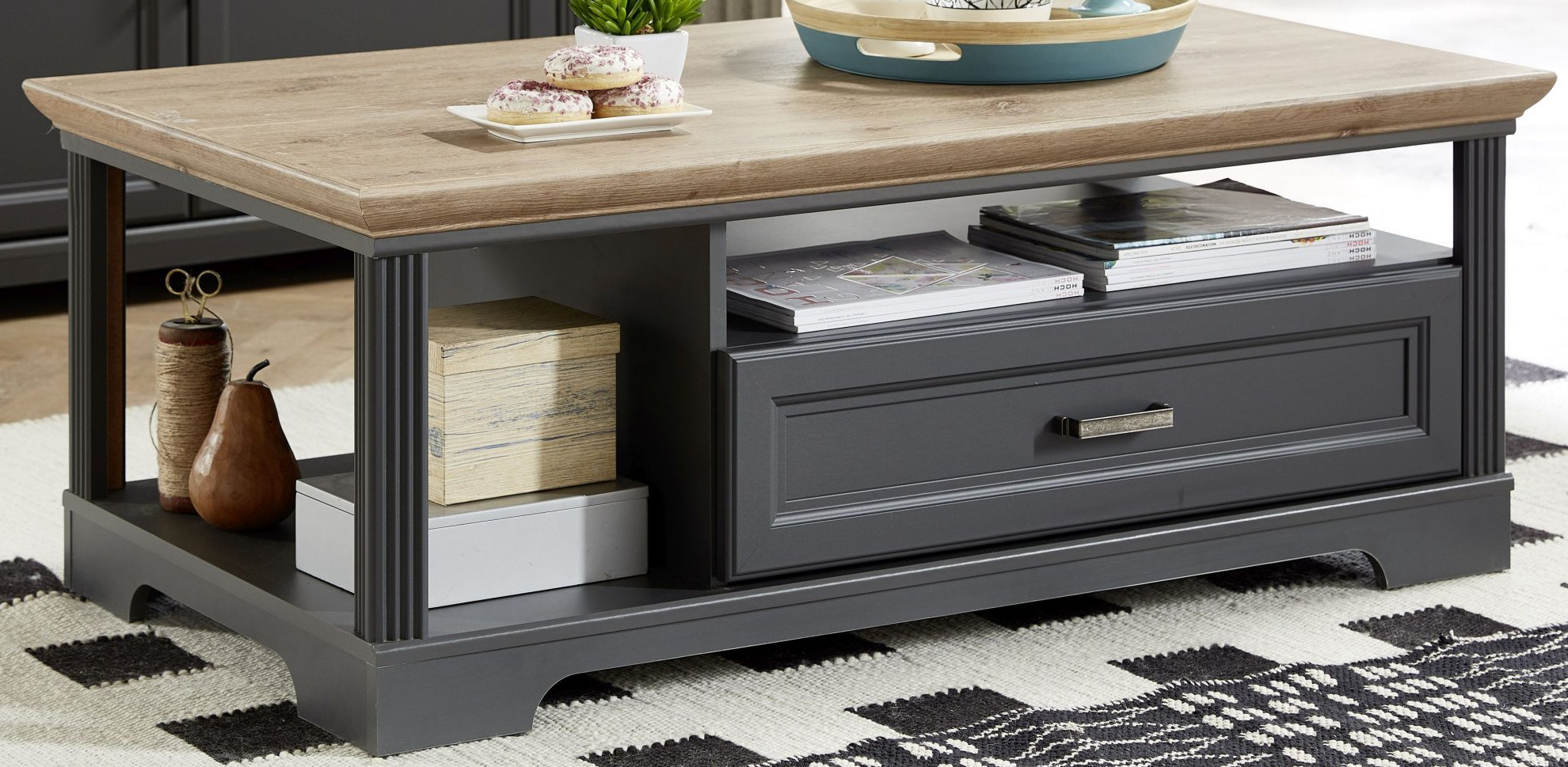 Salontafel - 120 CM<br><strong>+ € 7,00</strong>